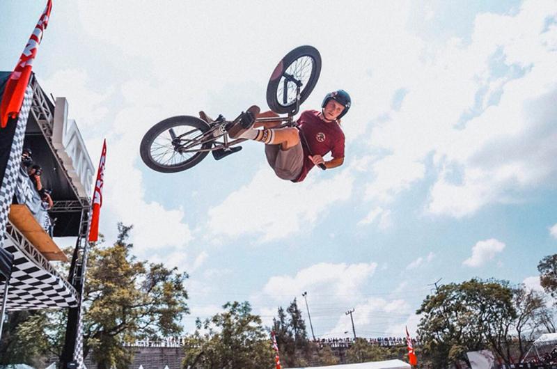 Estadunidense Angie Marino gana Vans BMX Pro Cup en Guadalajara