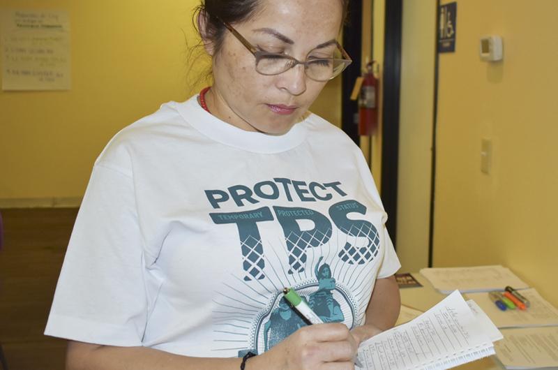 Esgrime Sandra Granados argumentos en favor del TPS