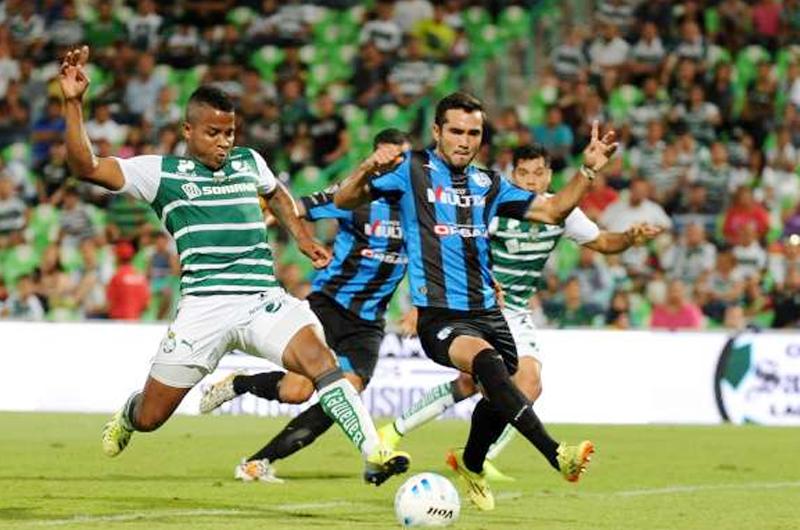Santos busca el pase a semifinales de Copa MX ante Querétaro