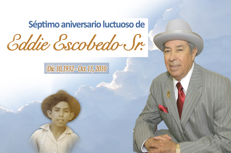 Eddie Escobedo Sr., fundador de El Mundo sigue presente
