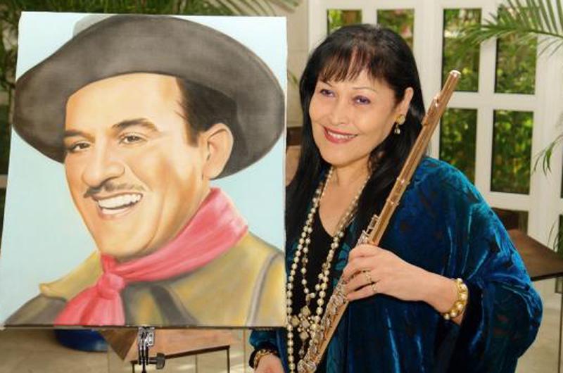 Continúan los homenajes a Pedro Infante; Tocará la flautista Elena Durán