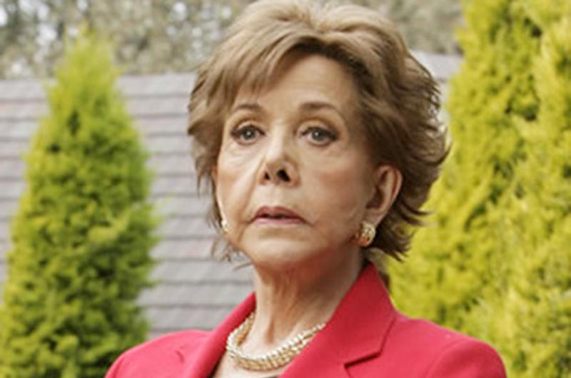Fallece María Rubio, una de las máximas villanas en los melodramas mexicanos