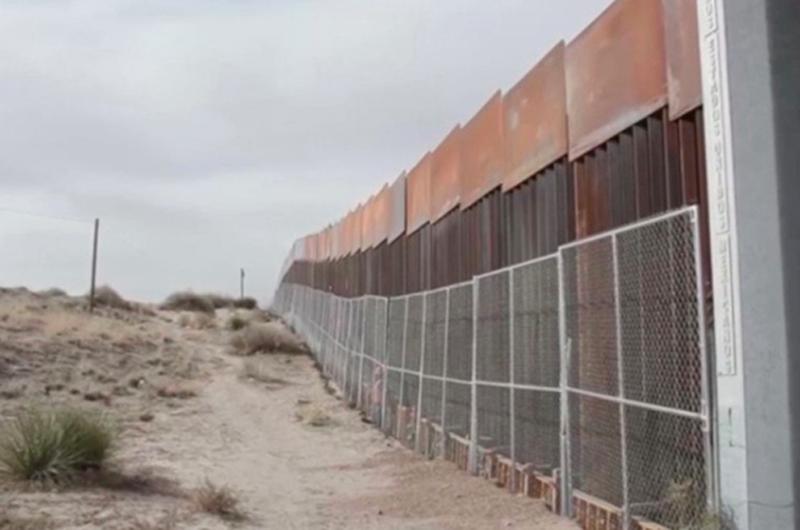 Mantiene su impopularidad el muro fronterizo de Trump