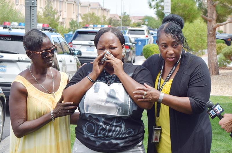 """Clama Chris Jackson: """"Ayúdenme a encontrar al asesino de mi hijo"""""""