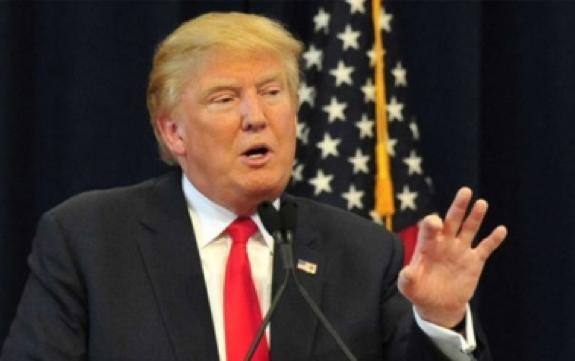 Ovacionan conservadores a Trump por armas, muro y TLCAN