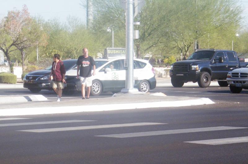 Efectuaron operativo de seguridad peatonal en el sureste