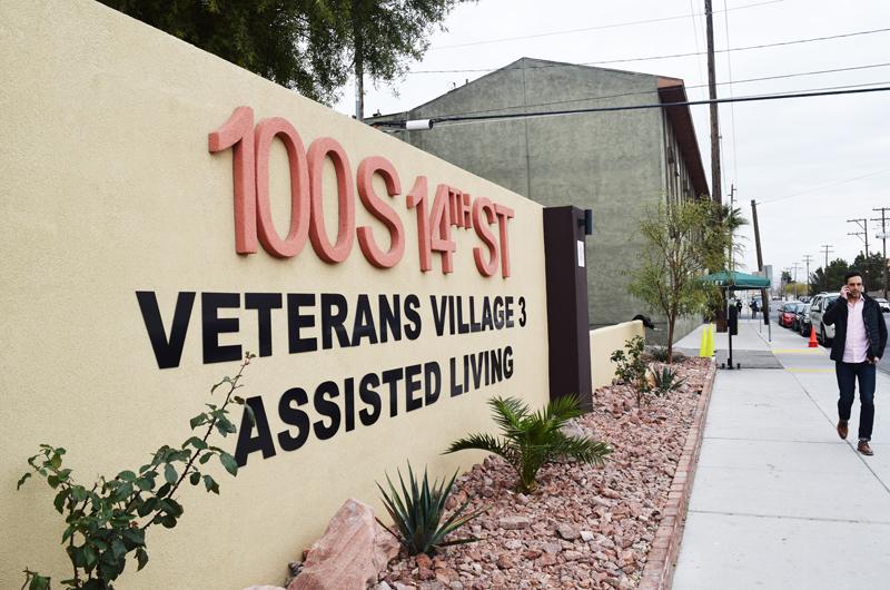 """Abrió sus puertas """"Veterans Village 3"""" en el Downtown de Las Vegas"""
