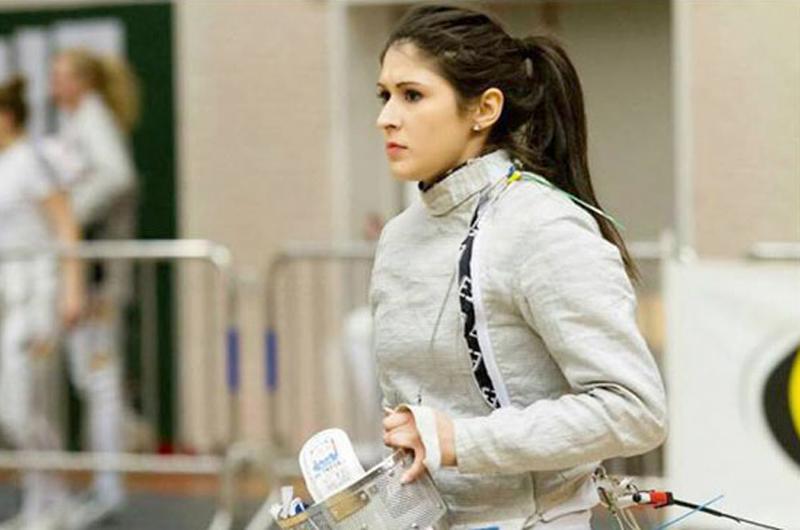 Esgrimista mexicana Paola Pliego estará en Gran Prix de Rusia