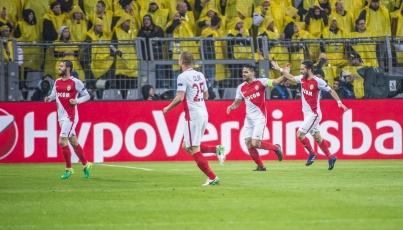 AS Mónaco vapulea 6-0 al Guingamp en Liga de Francia