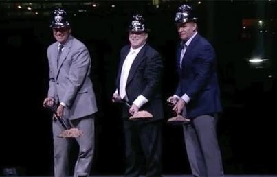 Raiders de NFL inician construcción de estadio en Las Vegas