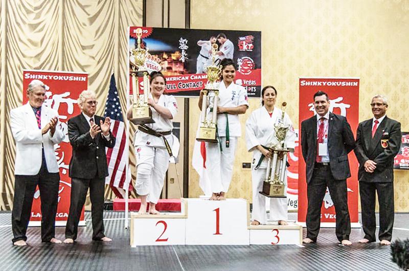 Excelente el primer torneo de karate contacto completo realizado en LV